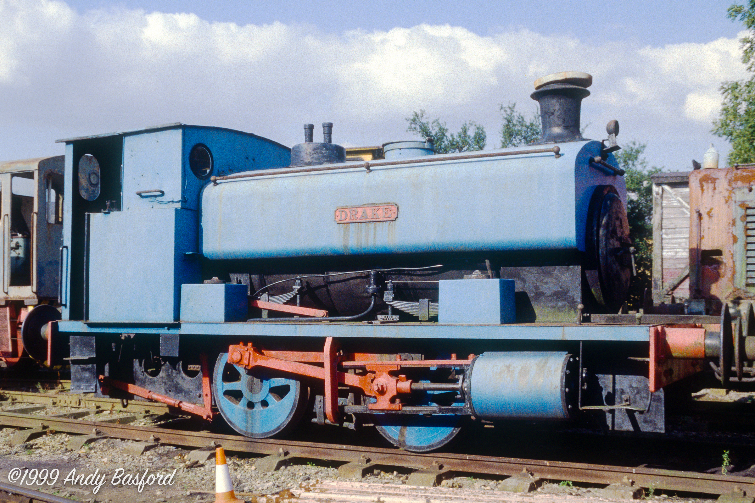 AB 0-4-0ST 'DRAKE' (works no.2086 of 1940)-19990829