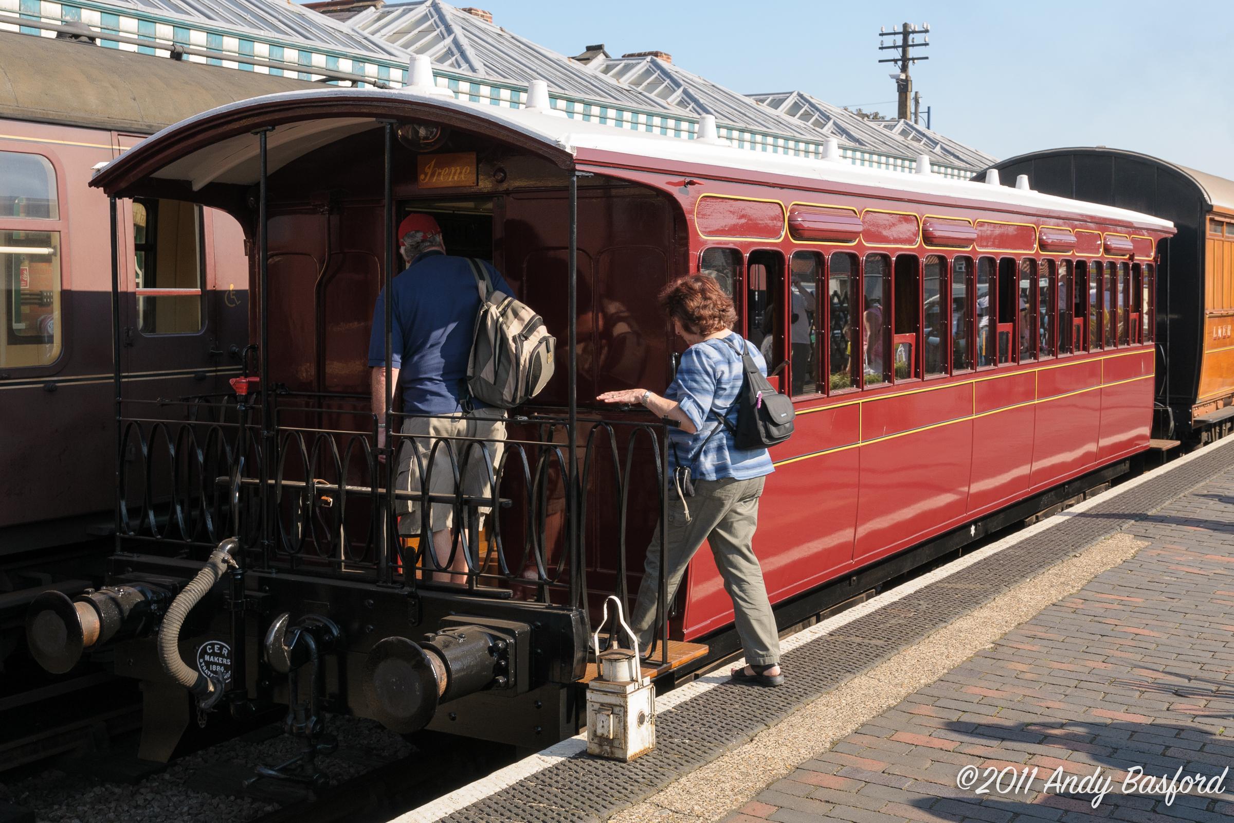 Great Eastern Railway bogie tramcar No.7-20111001