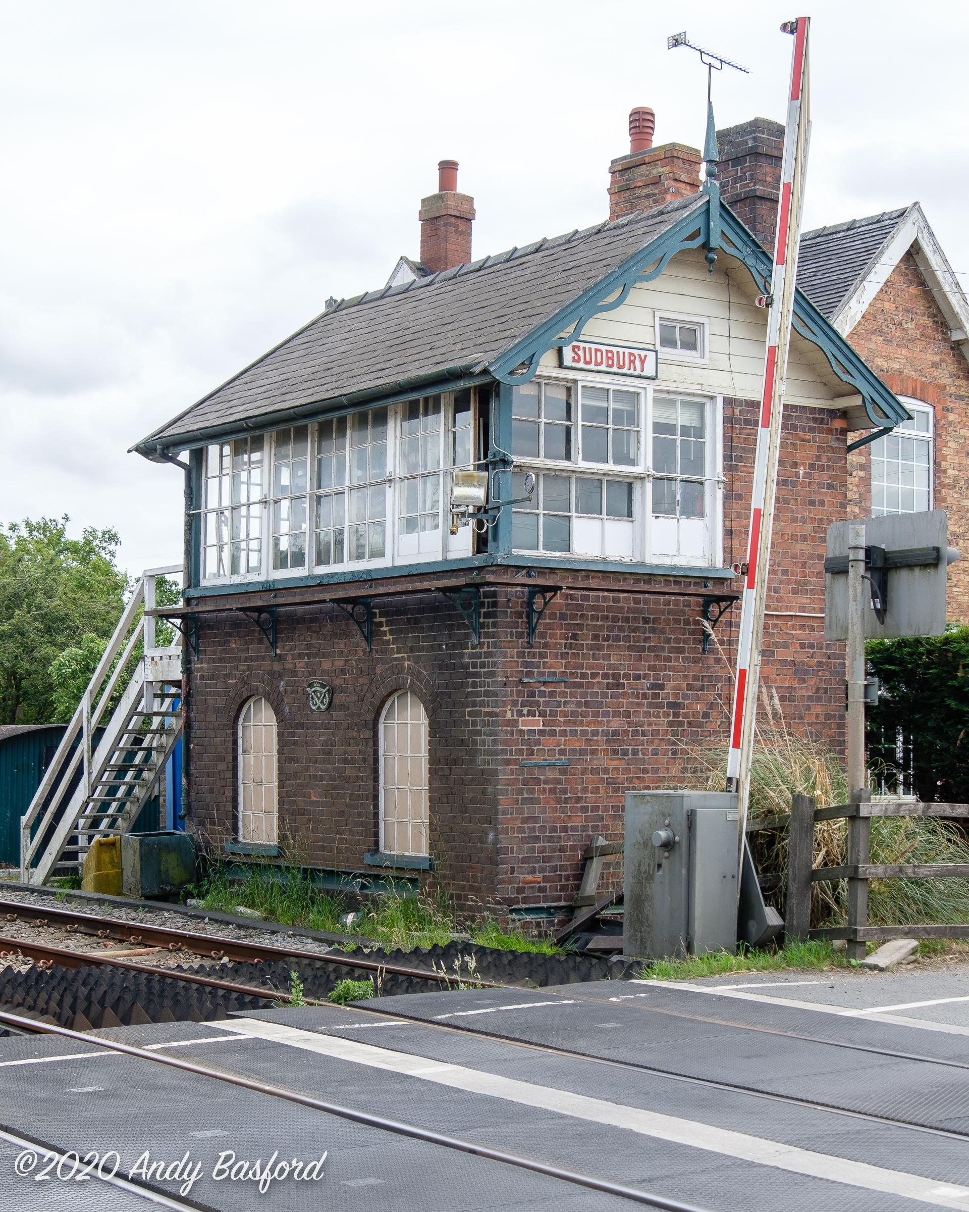 Sudbury signal box-20200630