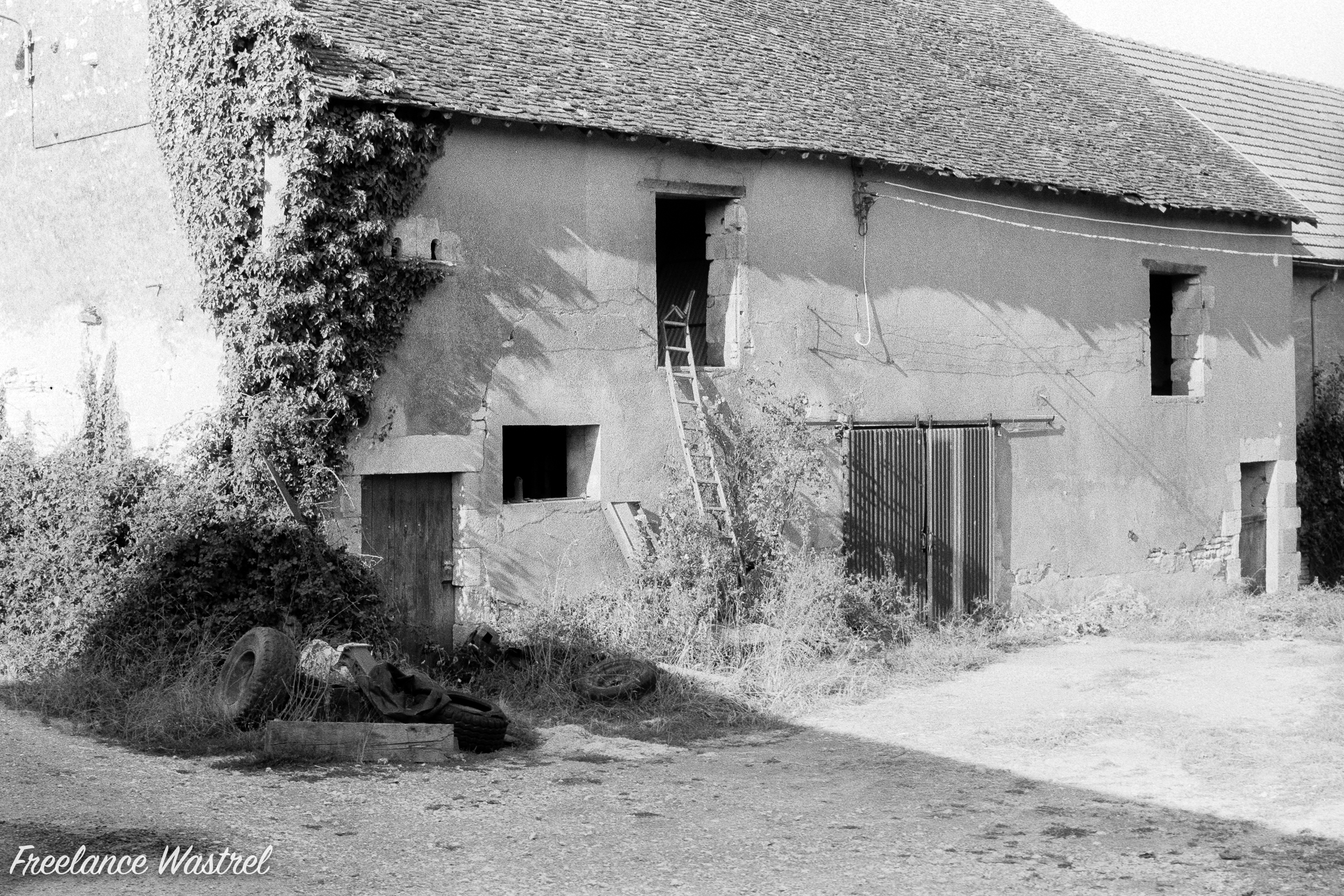 Farm building, the Nièvre