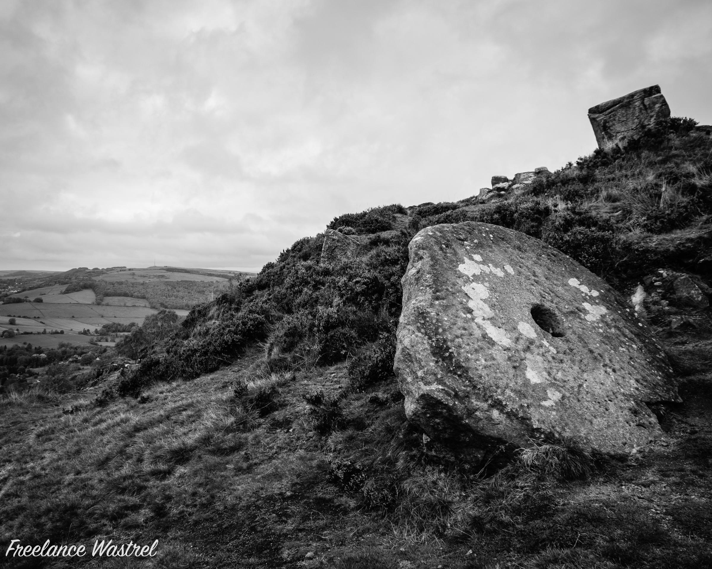 Millstone, Curbar Edge
