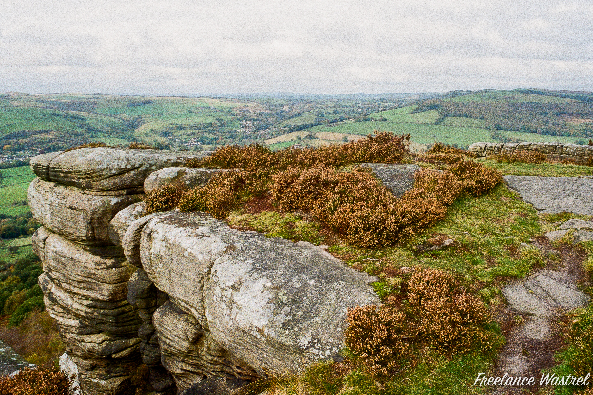 Curbar Edge, October 2020