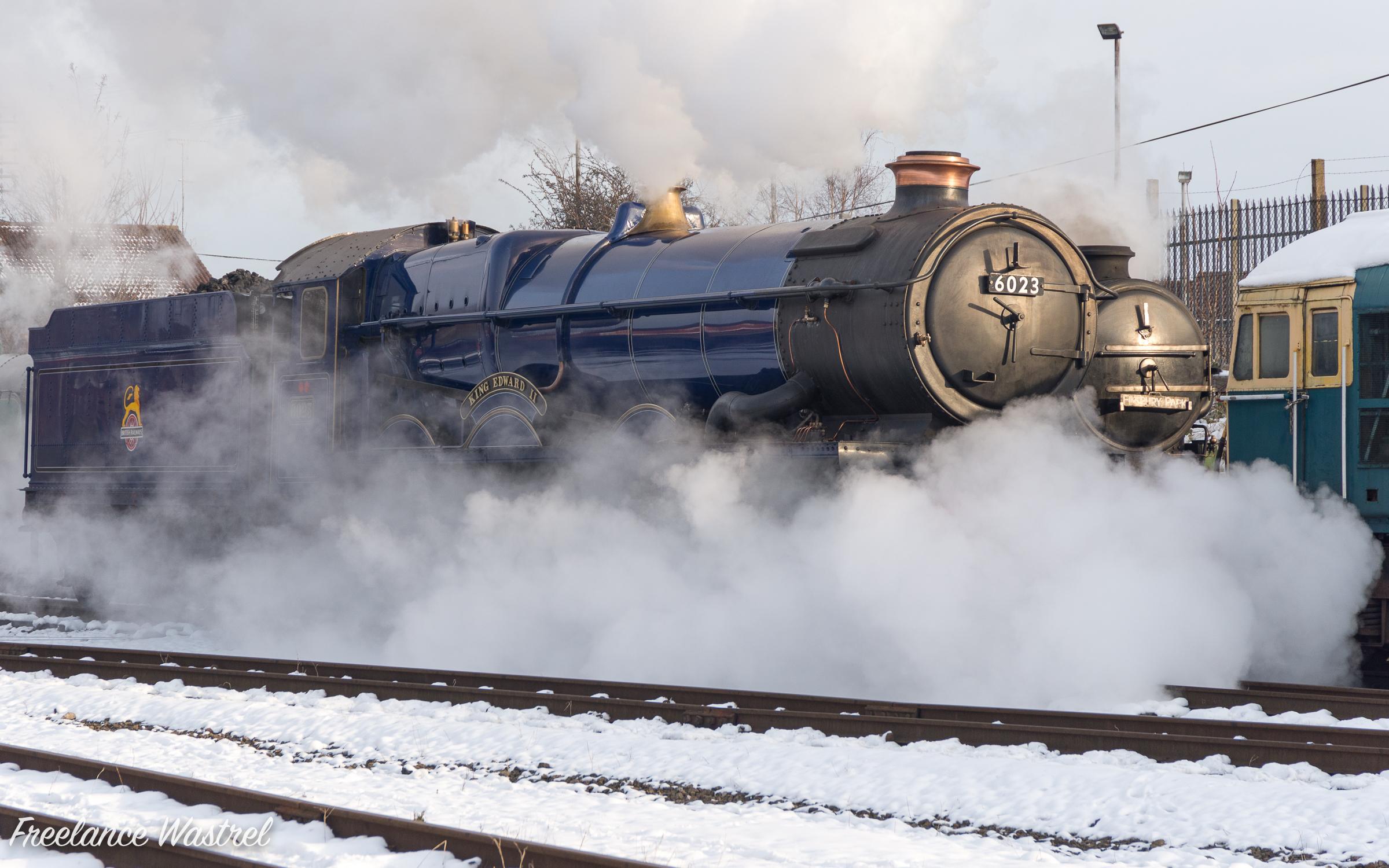 GWR 6000 class 4-6-0 6023-20130125