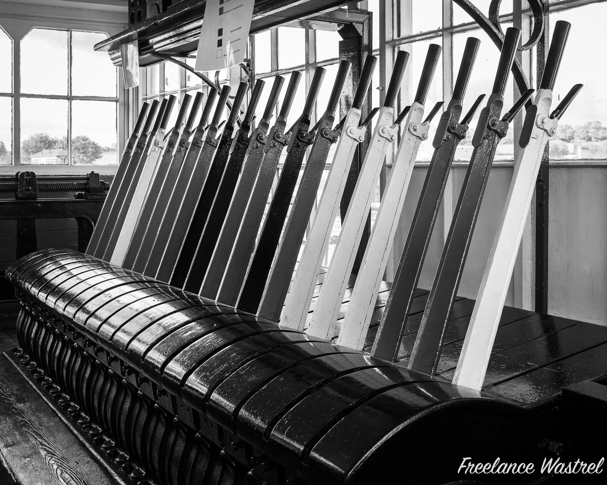 Lever frame, Swanwick Junction
