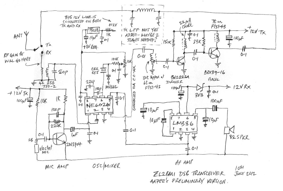 Ne602 Transmitter