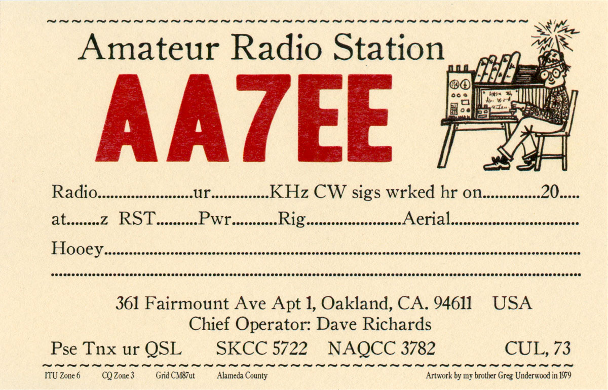 amateur radio dave richards aa7ee page 5