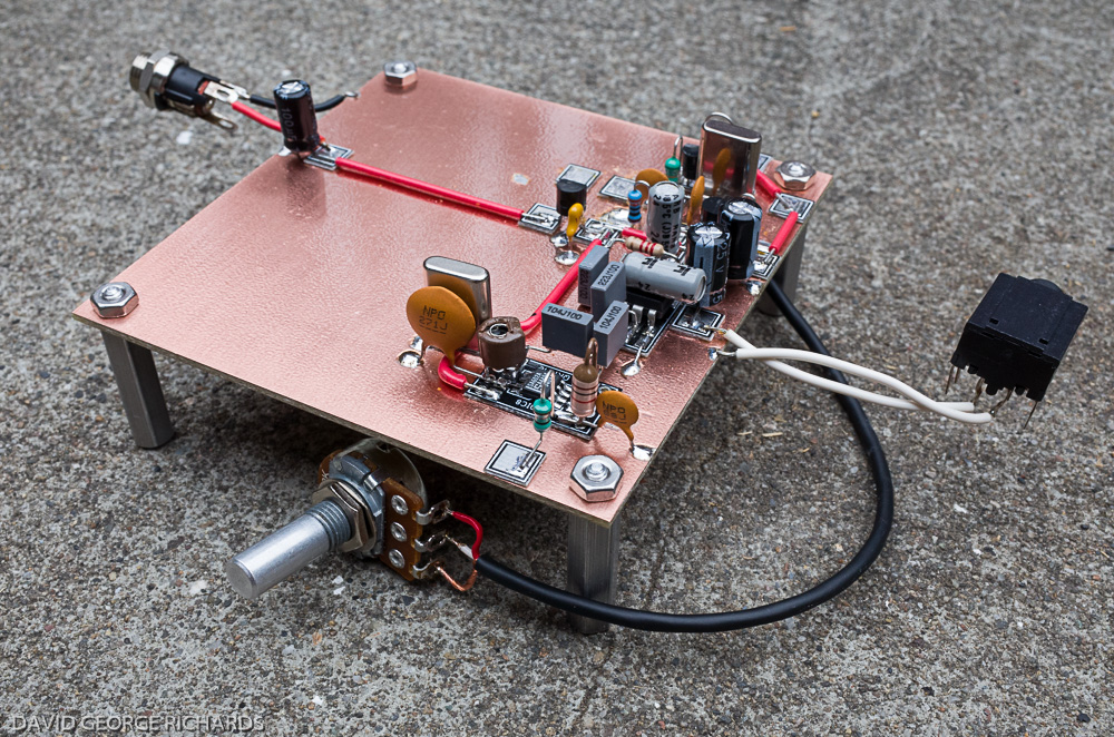 A Scratch-Build of N6KR and Wilderness Radio's SST for 20M