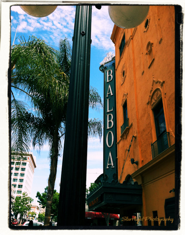 Balboa Theater, Gaslamp District, San Diego, CA