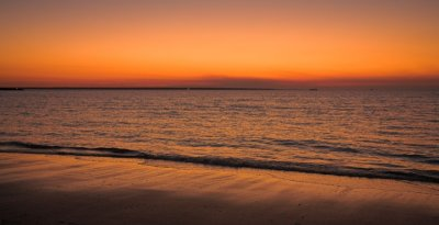 Mindil Beach at dusk