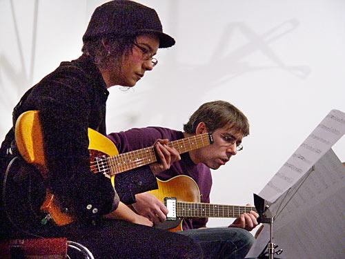 Fran Swinn and Jon Delaney
