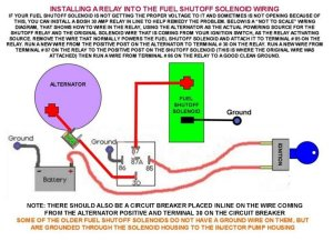 FC Fuel Shutoff Solenoid Modification Repair  Wanderlodge
