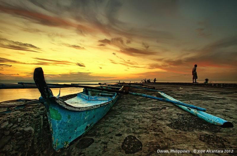 Sunrise, Agdao Seascape © Jojie Alcantara