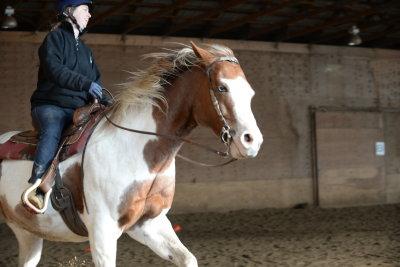 Riding lesson