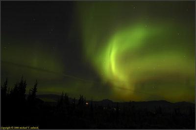 Aurora Borealis, from Healy Alaska (just North of Denali)