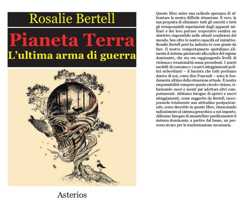 rosalie bertell kriegswaffe planet erde auf italienisch. Black Bedroom Furniture Sets. Home Design Ideas