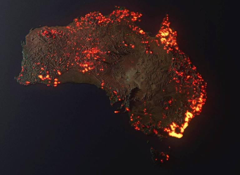 Australia under fire: environmental warfare and the climate change deception