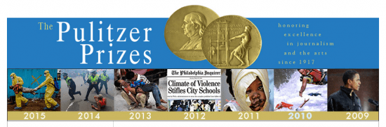 2015 Pulitzer Prize Winners Show A Changing Reality for Journalism (1/3)
