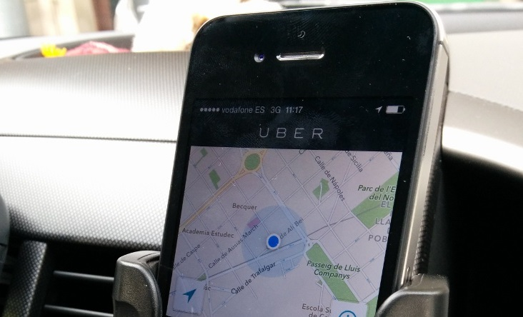 Uber revealed Friday Feb .27. 2014 it suffered a data breach that may have affected up to 50, 000 of its drivers. Photo by Flickr user acanyi