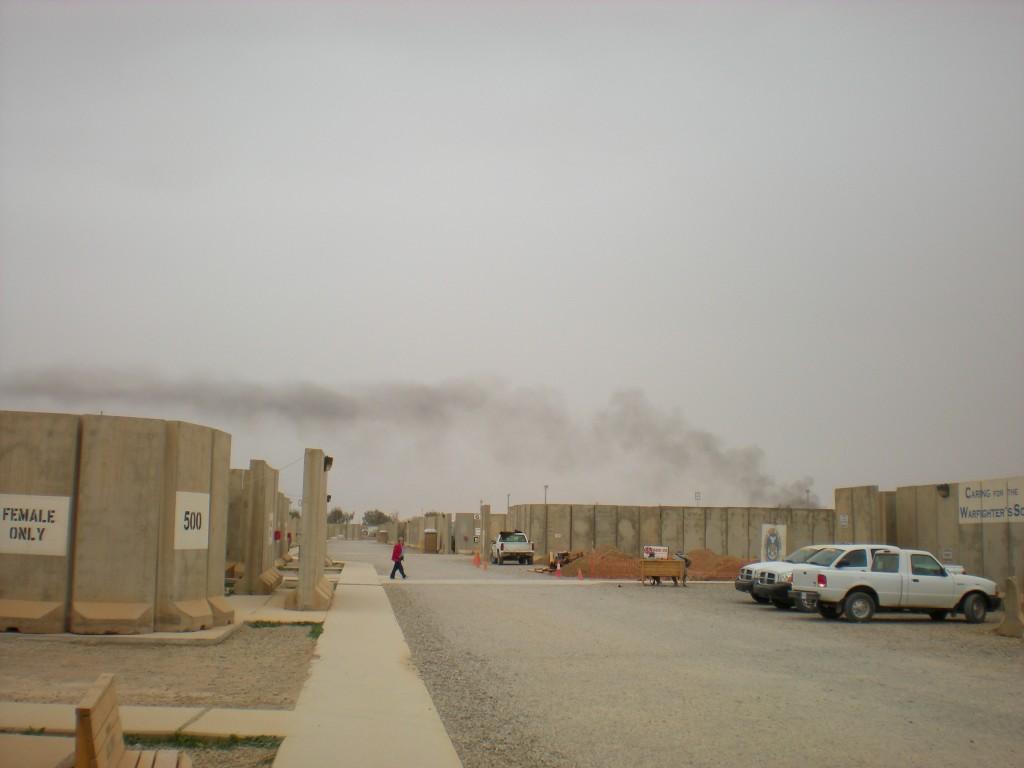 Joint Base Balad, January and May of 2009. Photo by Greg Roberts