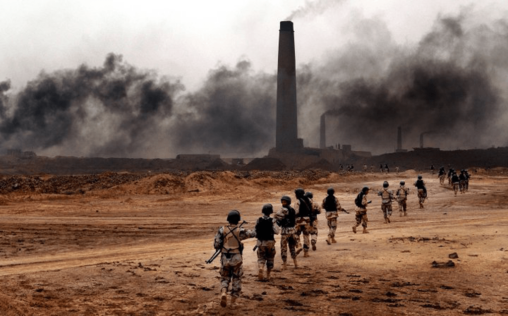 Brick factories in Northern Iraq. Photo by William Spencer