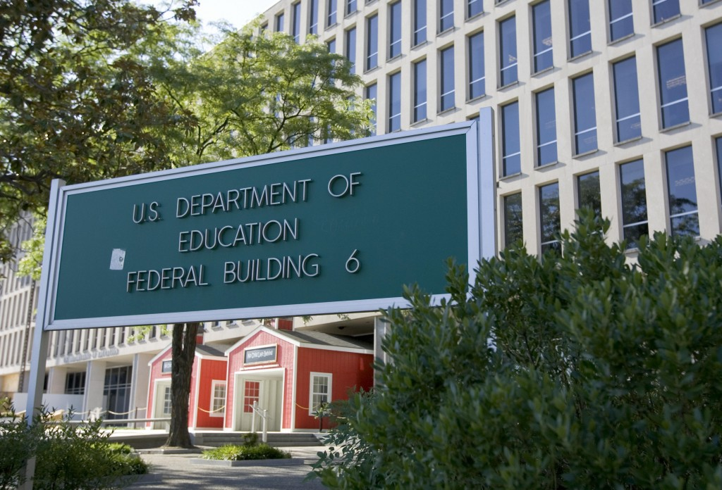 The Department of Education . Photo by Saul Loeb/AFP/Getty Images