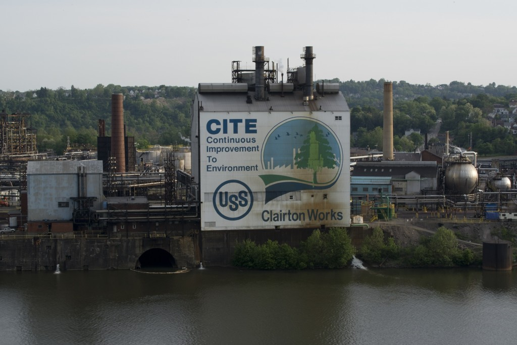 """United States Steel Clairton Coke Works, C.I.T.E. and Monongahela River 2013."" Photo by LaToya Ruby Frazier"