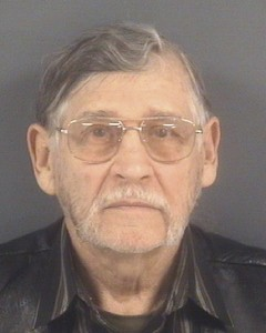 John Franklin McGraw of Linden, North Carolina, is shown in this booking photo provided by the Cumberland County Sheriff's Office in Fayetteville, North Carolina. McGraw is facing criminal charges after police say he assaulted a protester at a Donald Trump rally. Photo provided by Cumberland County Sheriff's Office via Reuters