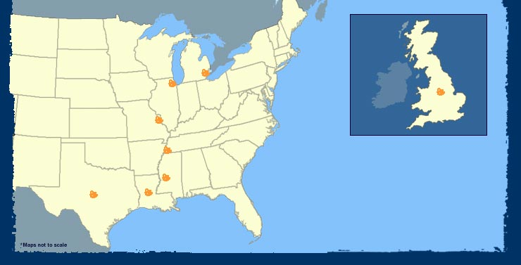 The Blues   Blues Road Trip   Map   PBS Move your mouse over a region