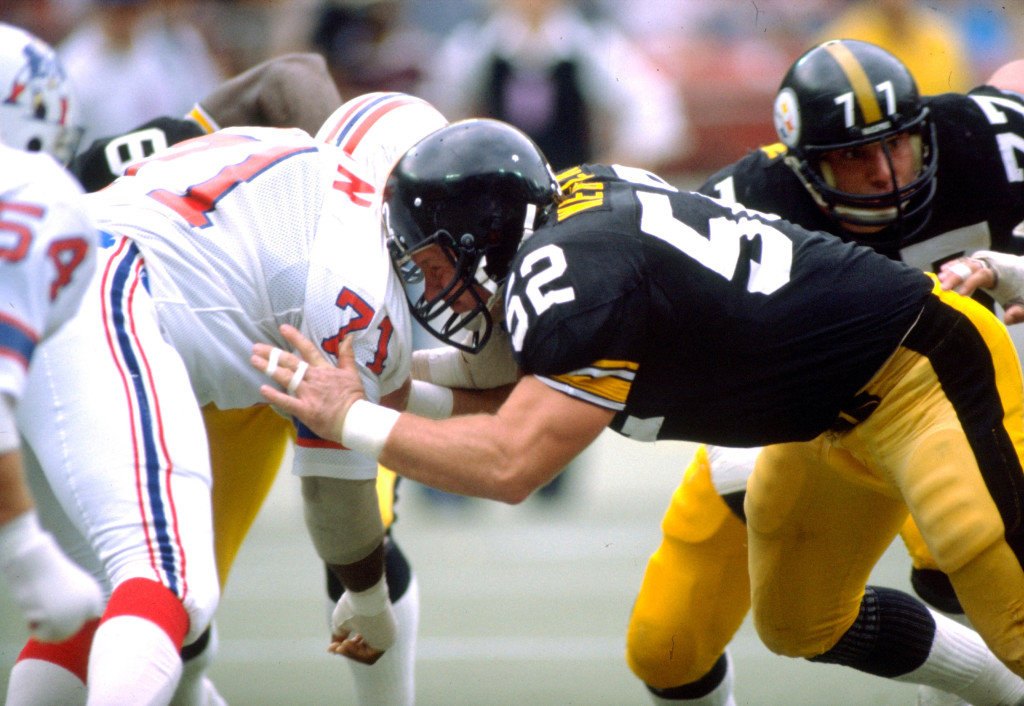 Pittsburgh Steelers Hall of Fame center, Mike Webster