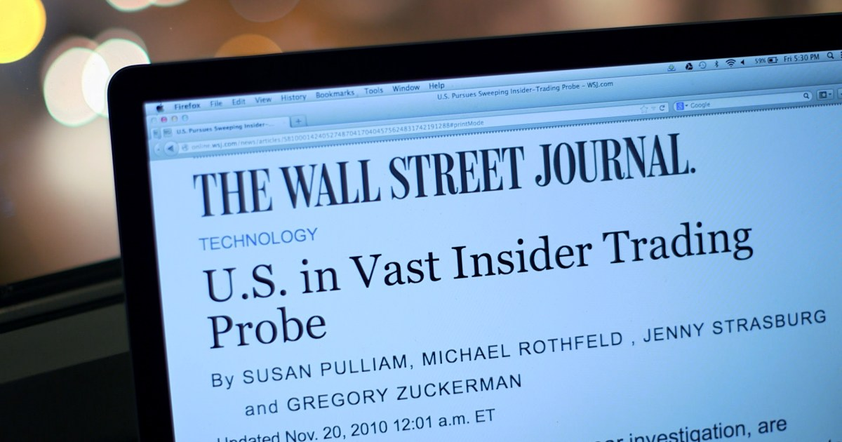 The government's historic crackdown on insider trading has shaken Wall Street. To date, authorities have filed charges against roughly 80 indivi