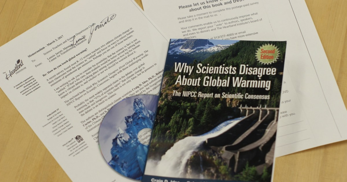 climate change skeptic group seeks to influence 200 000