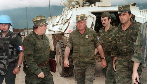Convicted of Genocide: Inside the Trial of Ratko Mladić   The Trial of  Ratko Mladić   FRONTLINE   PBS   Official Site