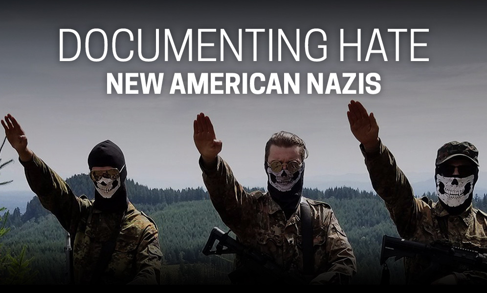 """Tonight on FRONTLINE: """"Documenting Hate: New American Nazis"""""""