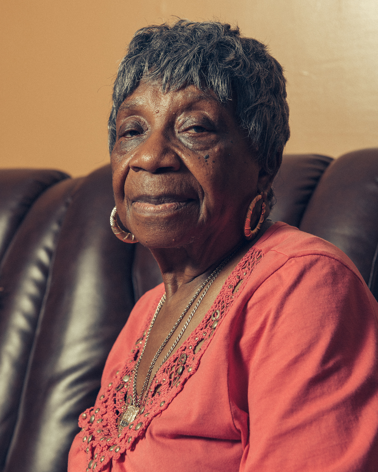 Rosetta Walker, mother of Bernard Walker, on December 7, 2018.