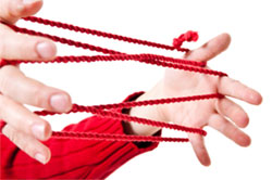 The string game, Cat's Cradle.
