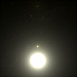 Polaris, the North Star.