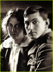 Mallory with his wife, Ruth