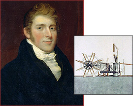 Image result for Robert Fulton (1765 –1815)