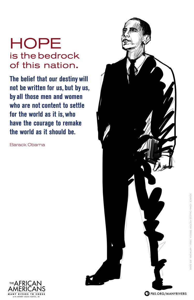 barack obama posters the african