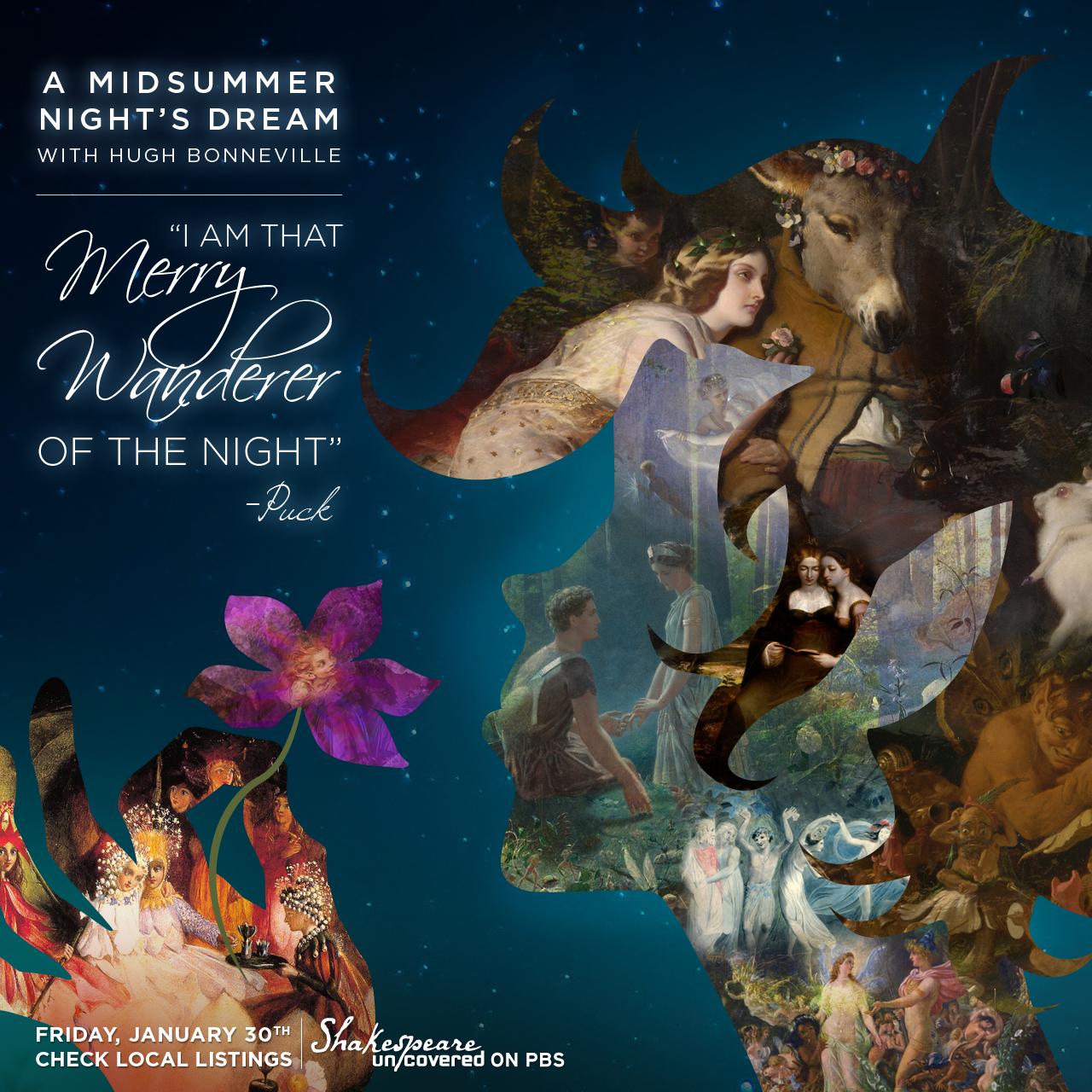 A Midsummer Night S Dream Playbill