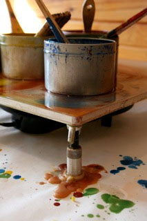 when does encaustic stop being encaustic?