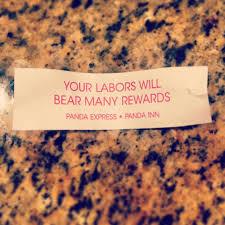 hard work fortune