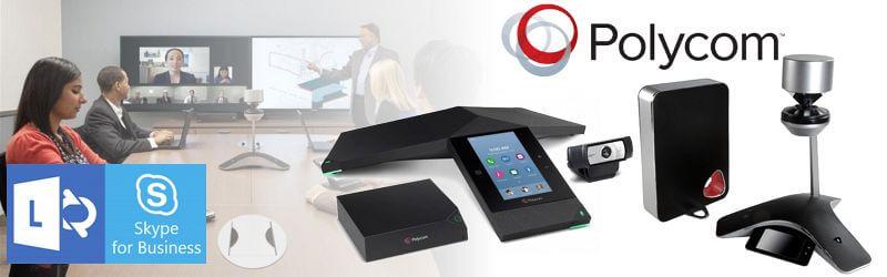 Pol;ycom Skype Conferencing Dubai