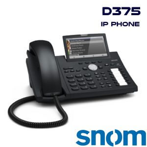 SNOM-D375-IP-PHONE-DUBAI-UAE