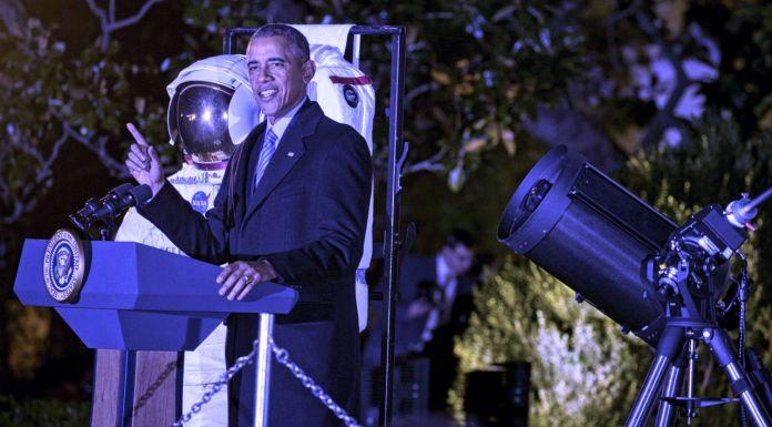 Pranav Sivakumar on White House Astronomy Night