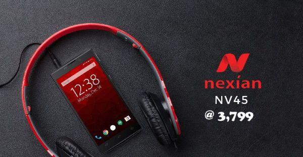 Nexian NV-45 Android phone