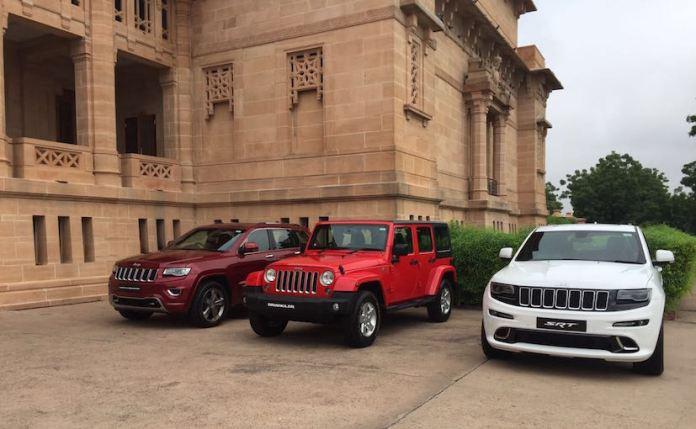 Jeep Wrangler Unlimited, Jeep Grand Cherokee