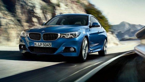 BMW 3 Series GT facelift