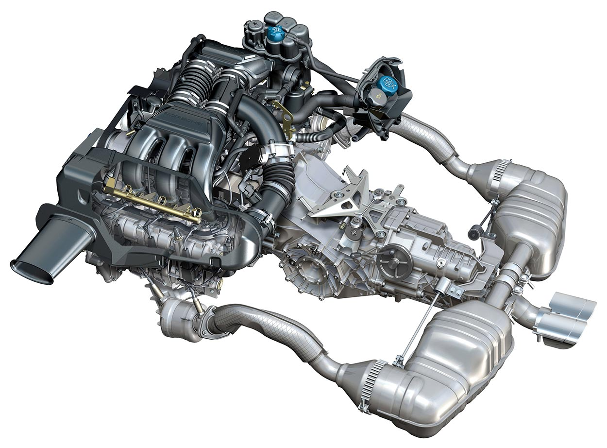Porsche Flat 6 Engine Diagram 1986