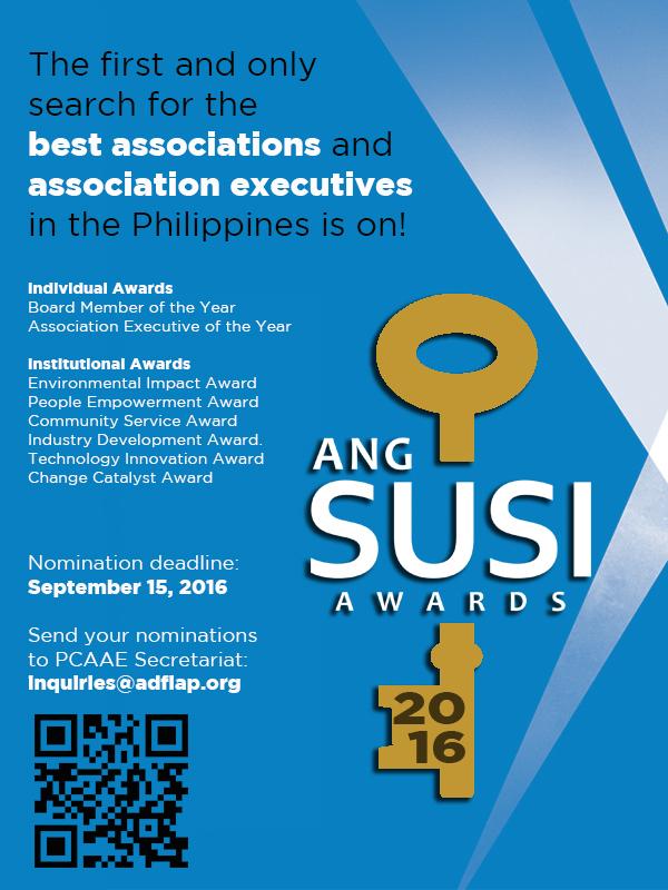 Ang Susi Awards 2016 eflyer